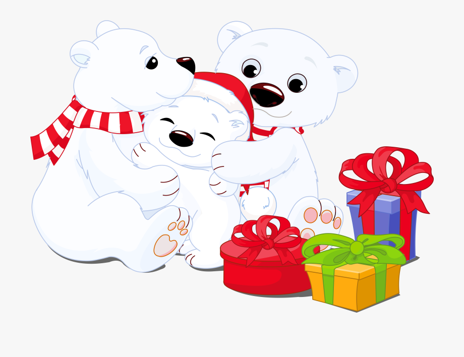 Clipart Gallery, High Quality Images, Polar Bears.