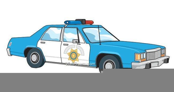 Animated Police Cars Clipart.