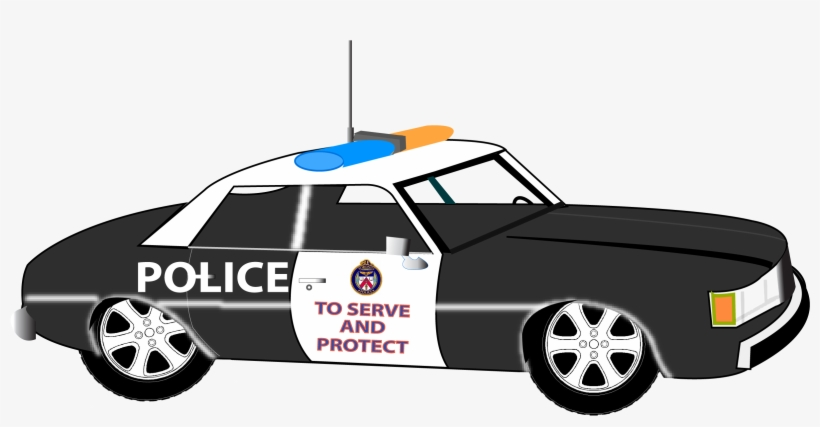 28 Collection Of Police Car Clipart Png.