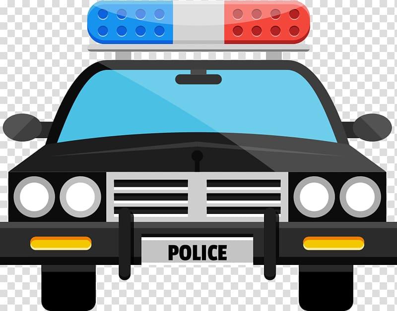 Black police car illustration, Police car , Cartoon police.