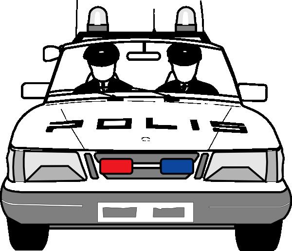 Police Car Clip Art at Clker.com.