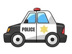 Free Cartoon Police Car Clip Art.
