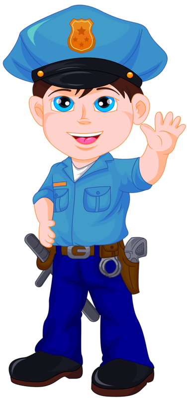 Policeman clipart animation, Policeman animation Transparent.