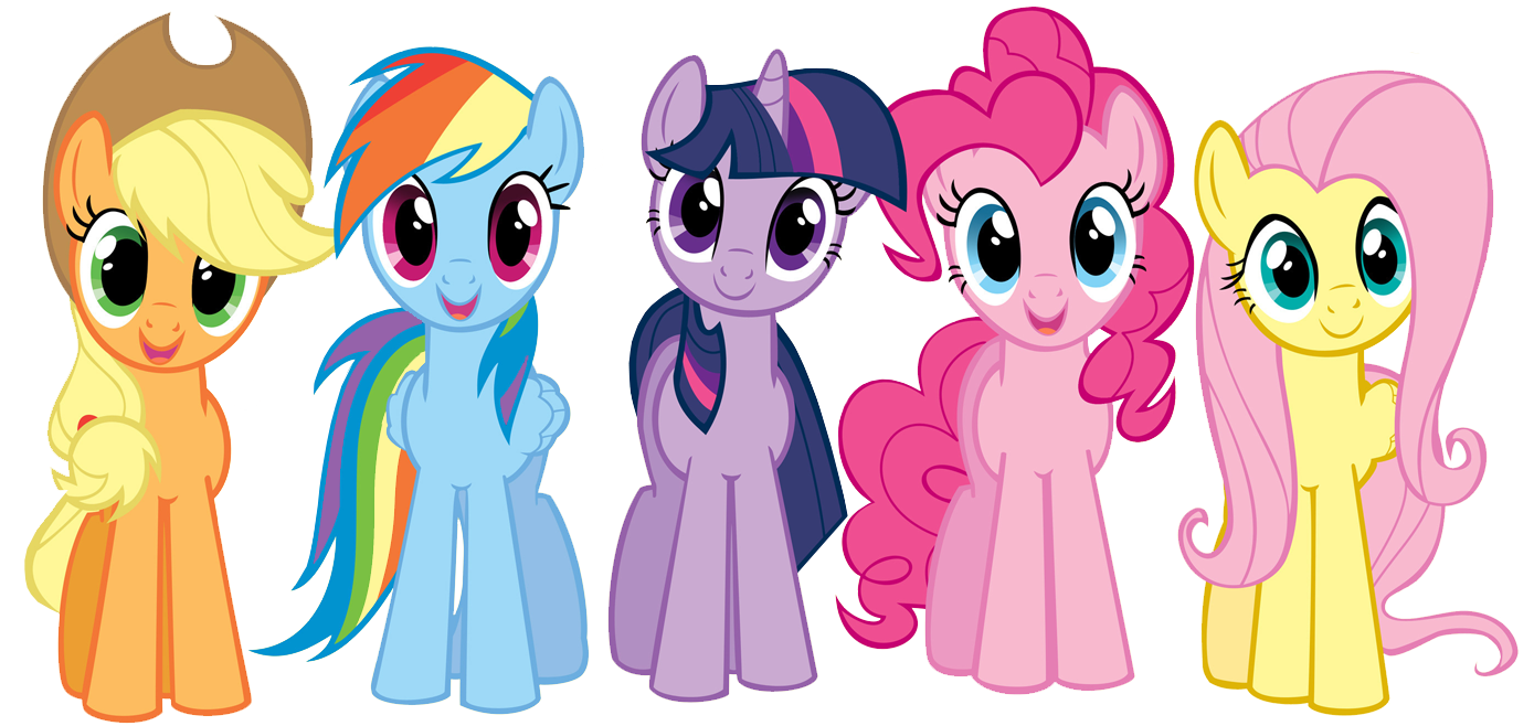 Little Pony Cliparts.