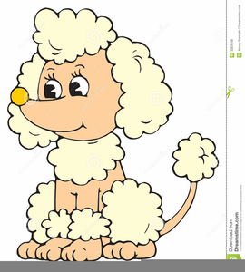 Animated Poodle Clipart.