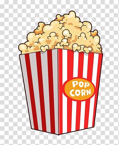 Popcorn Cartoon Film , Cartoon Popcorn transparent.