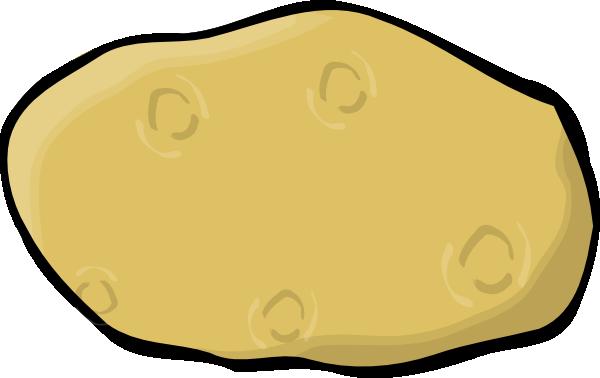 Cartoon Potatoes Clipart.