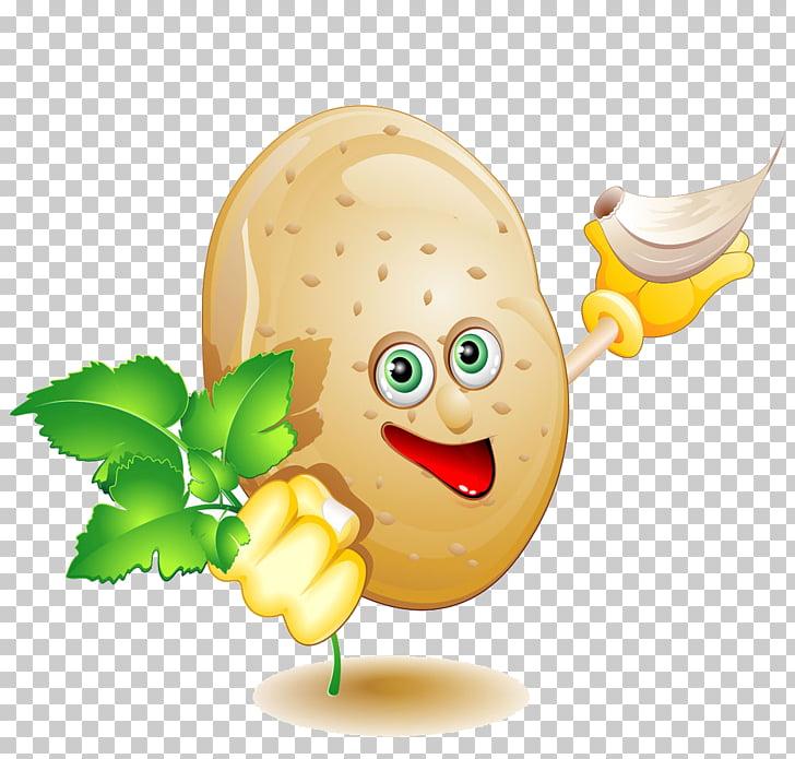 Potato Cartoon Vegetable Food, Potato PNG clipart.