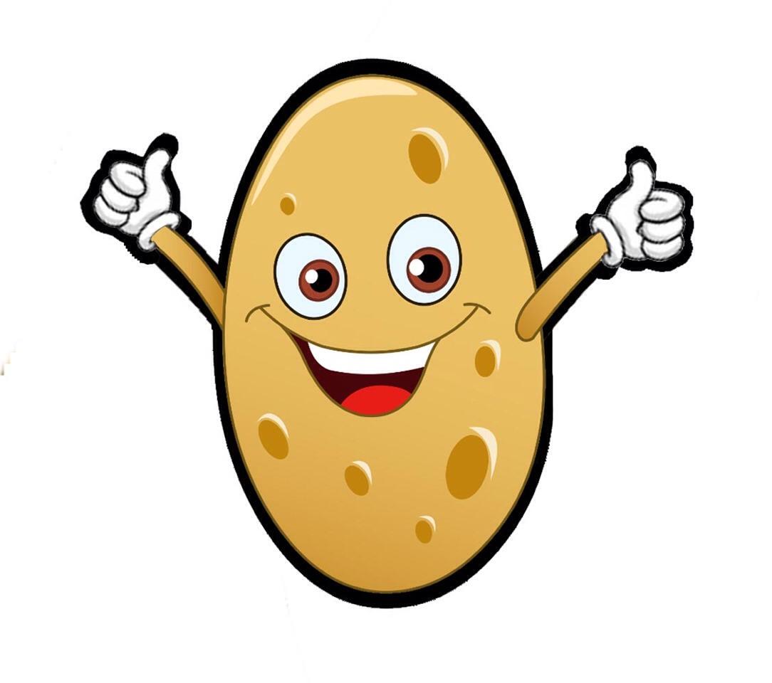 Potato clipart face, Potato face Transparent FREE for.