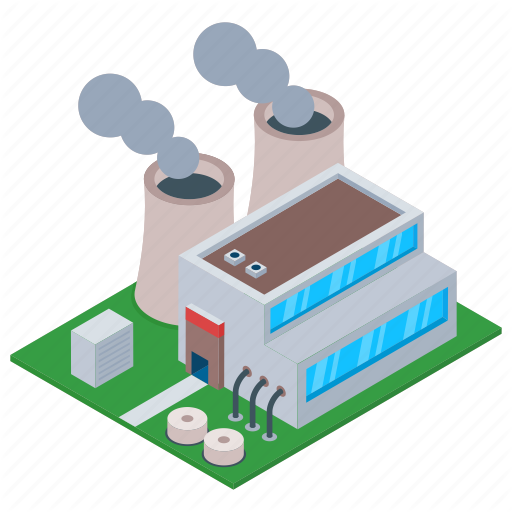 \'Factory And Industrial Buildings\' by Vectors Market.