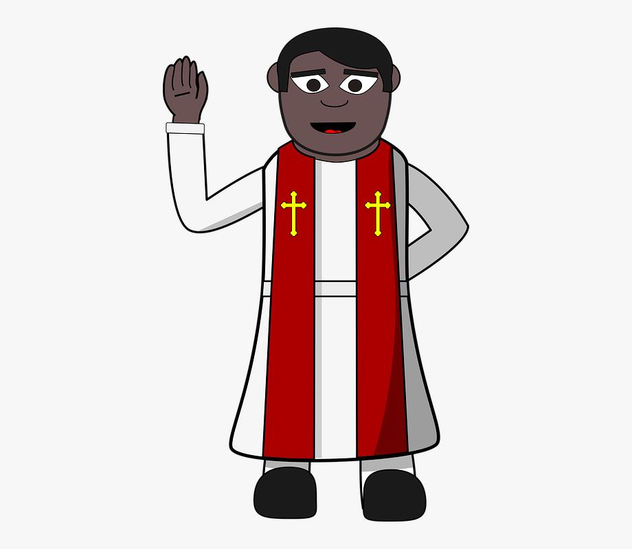 Priest Clipart Transparent Background.