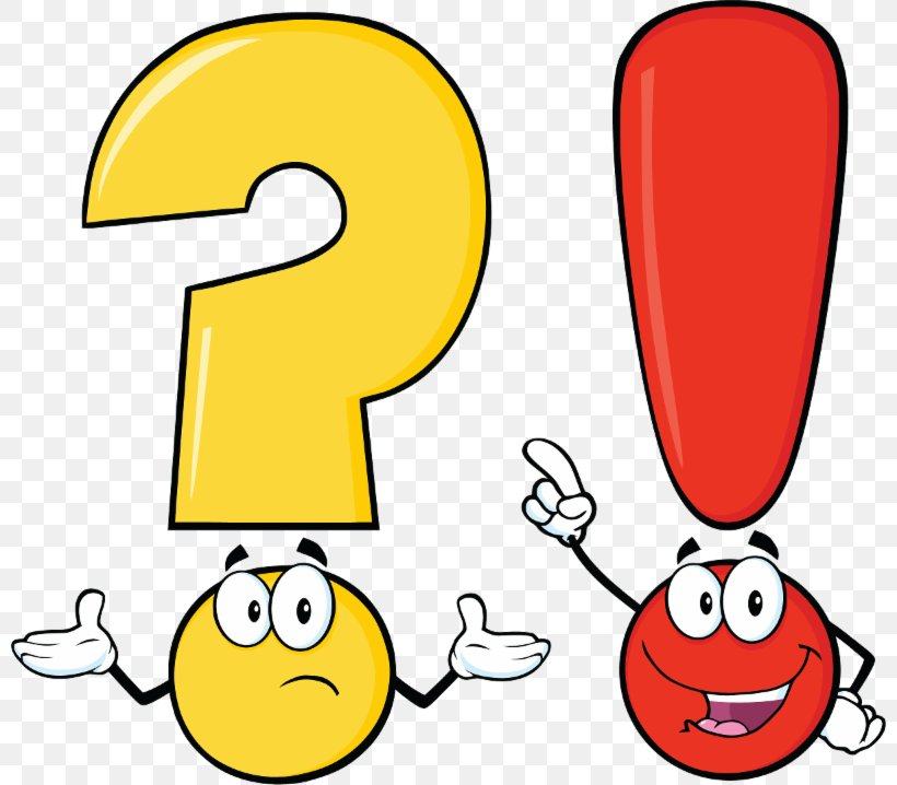 Exclamation Mark Vector Graphics Question Mark Punctuation.