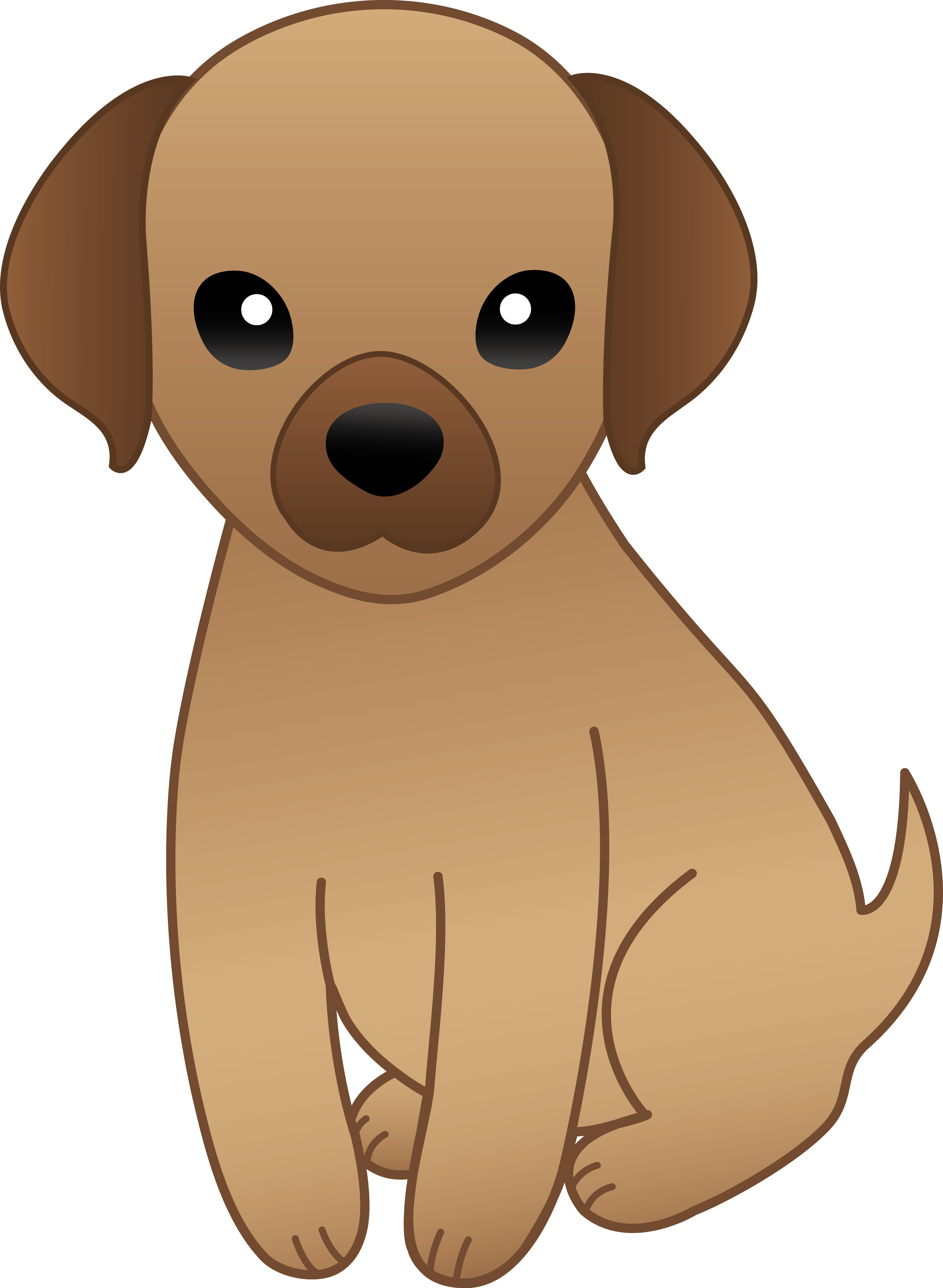 Free Cute Animated Dog, Download Free Clip Art, Free Clip.