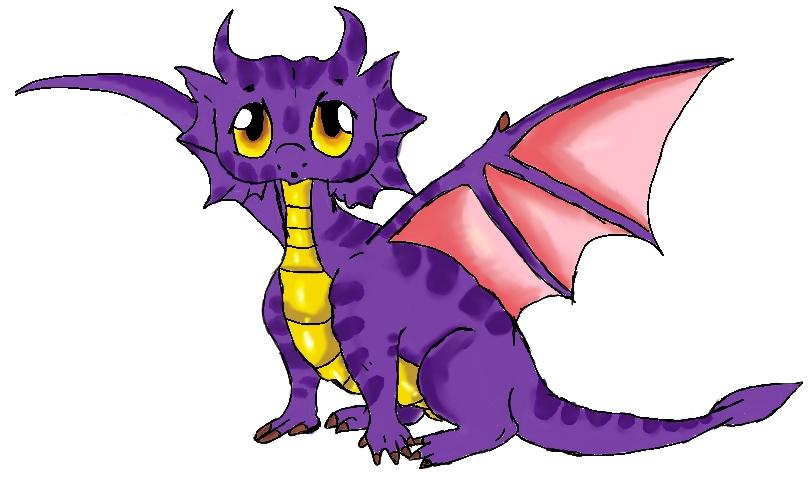 Purple Dragon Png.