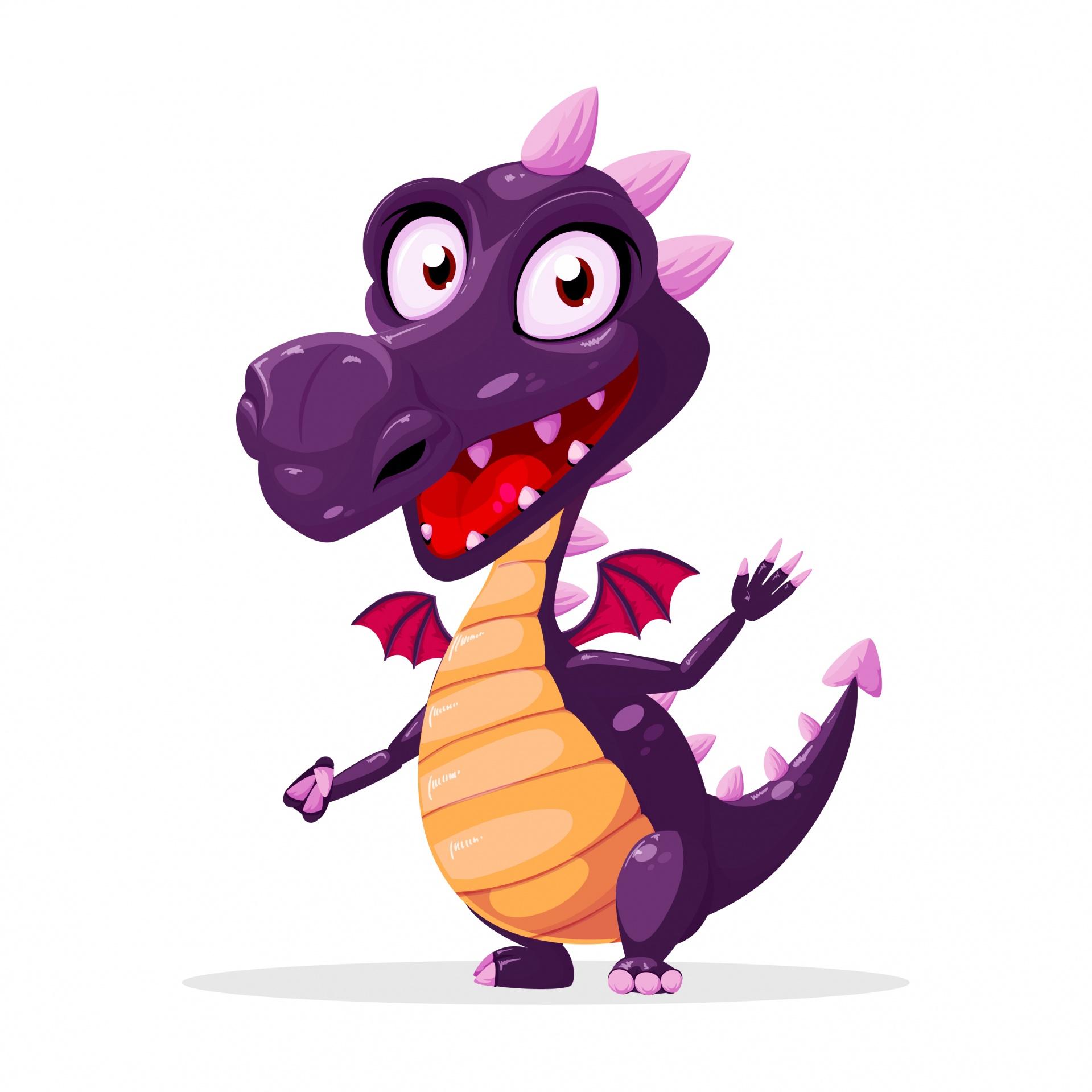 Dragon,clipart,clip art,cartoon,purple.