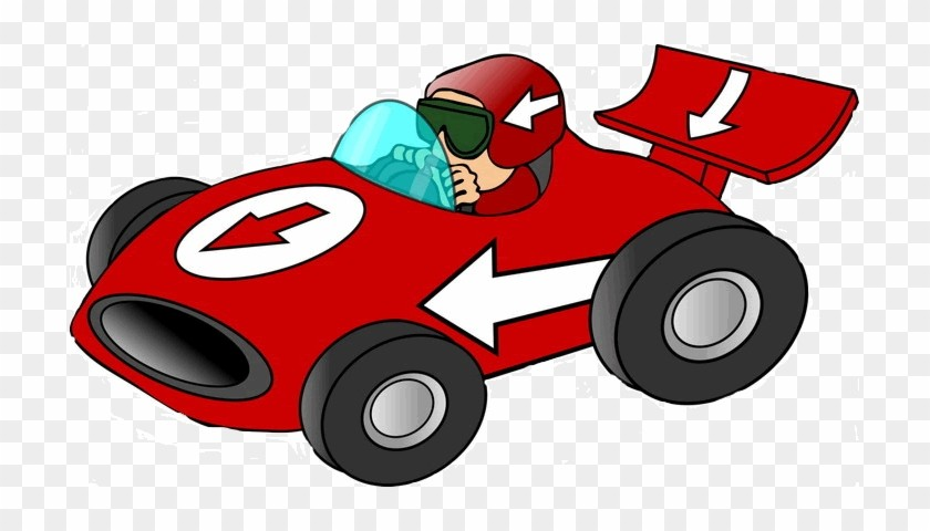 Car Clipart Races Cute Borders Vectors Animated Black And White.