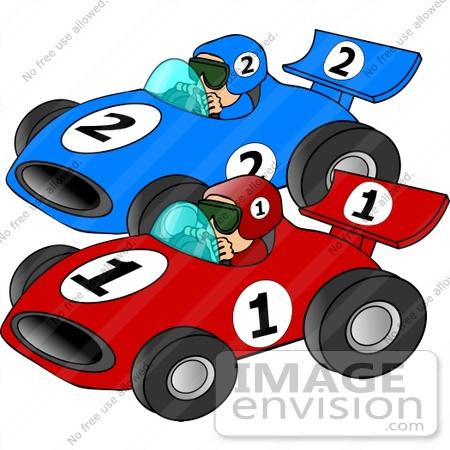 2819 Race Car free clipart.