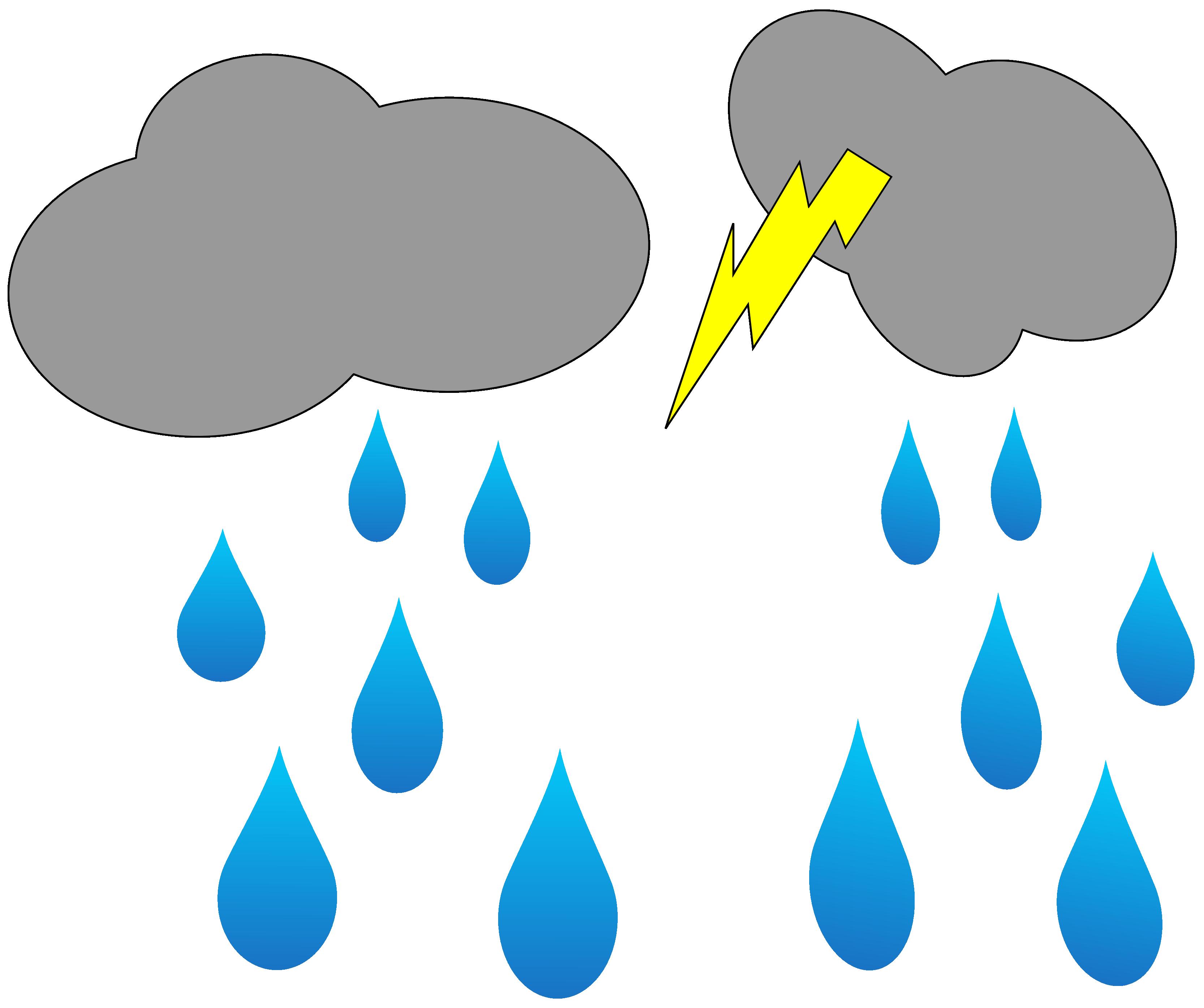 Rain Animation Clip art.