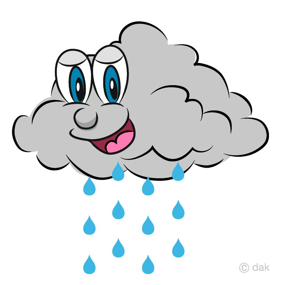 Free Rain Cloud Cartoon Image|Illustoon.