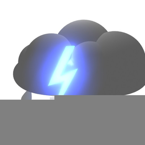 Animated Rain Cloud Clipart.