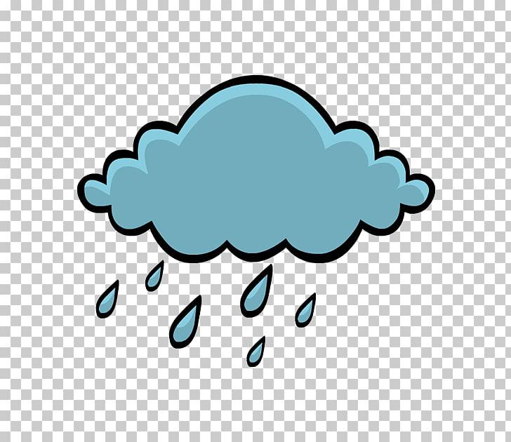 Rain Cloud Animation , raindrops material, blue cloud PNG.