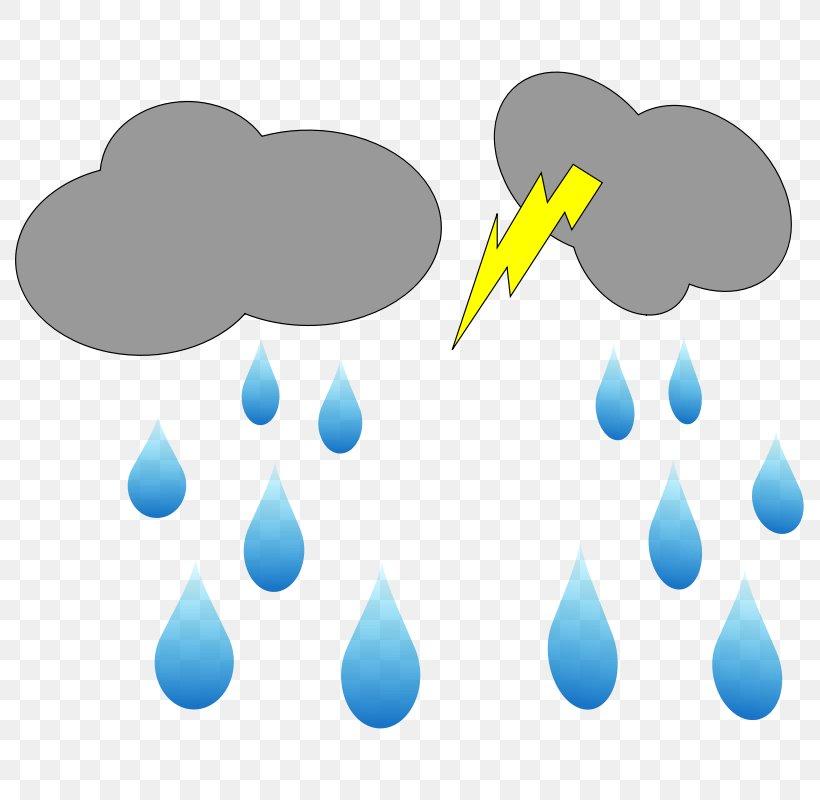 Rain Cloud Clip Art, PNG, 800x800px, Rain, Animation, Blue.
