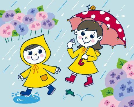 Rainy Day Cartoon.
