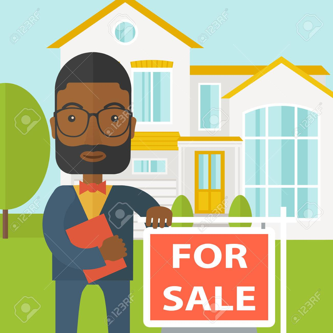 Real estate agent. » Clipart Station.