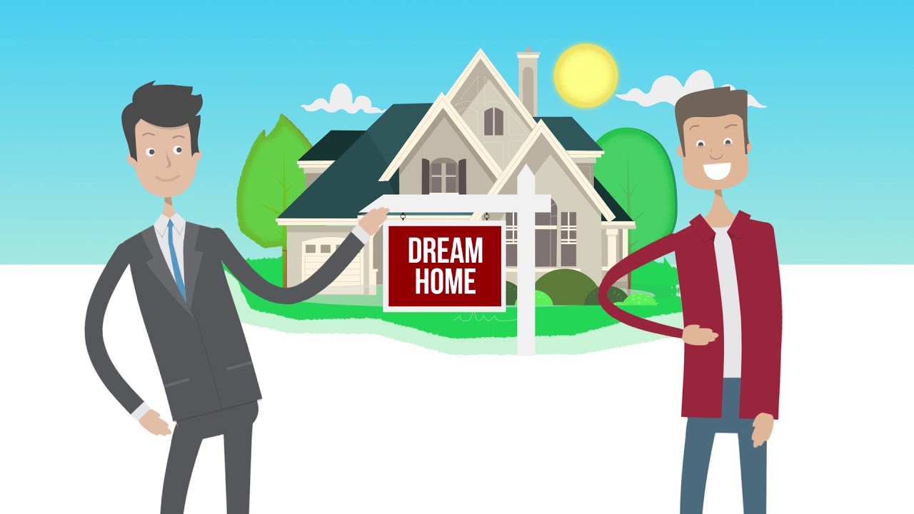 Real Estate Agent Animated Video.