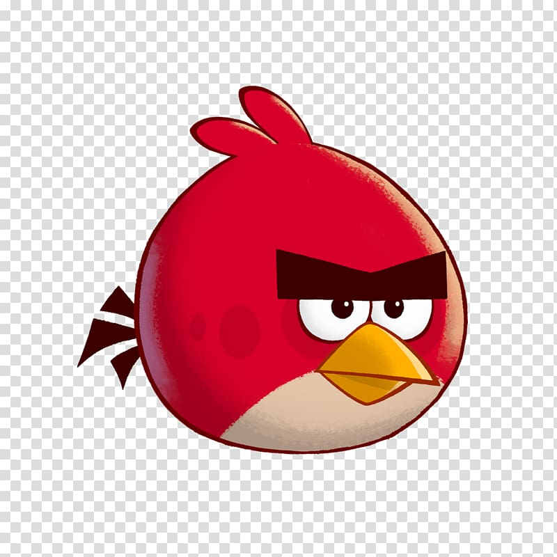 Angry Birds Stella Pig Red , angry transparent background.