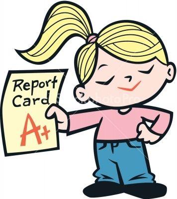 a+ report card.