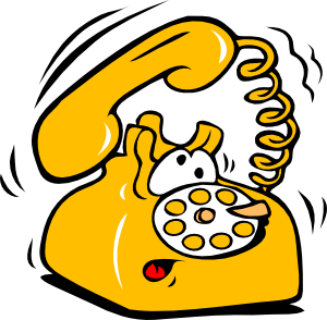 Ringing Phone Clip Art at Clker.com.