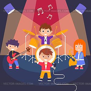 Kids Rock Band,.