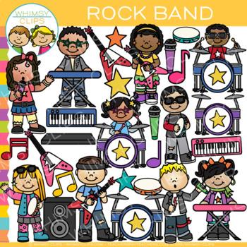 Rock Band Clip Art {Rock Star Clip Art}.