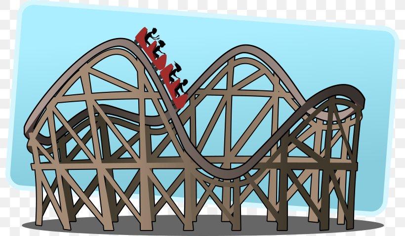 The Roller Coaster Amusement Park Clip Art, PNG, 800x478px.