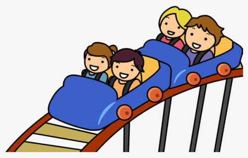 Free Roller Coaster Clip Art with No Background.
