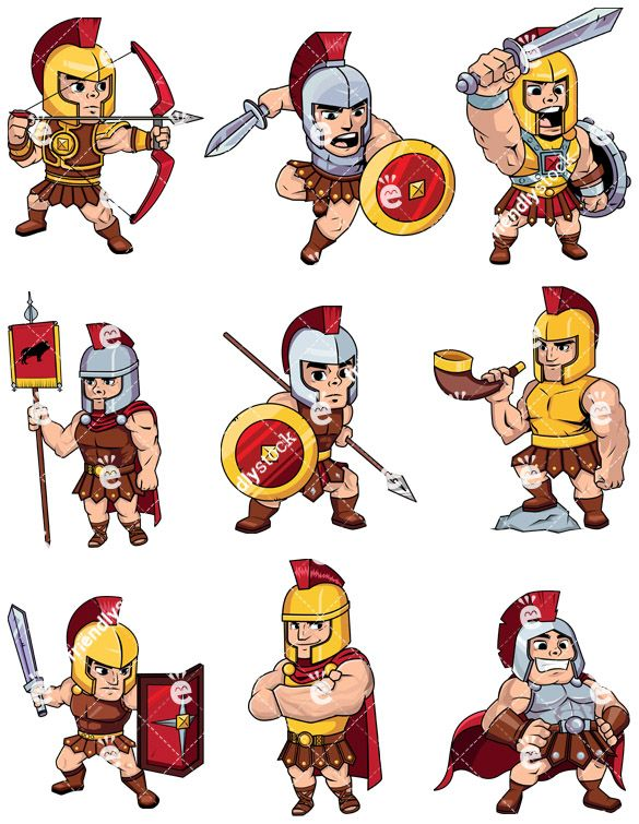 Roman Soldiers & Centurions Collection in 2019.