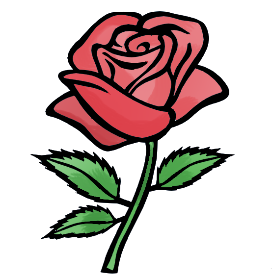 Free Cartoon Roses, Download Free Clip Art, Free Clip Art on.
