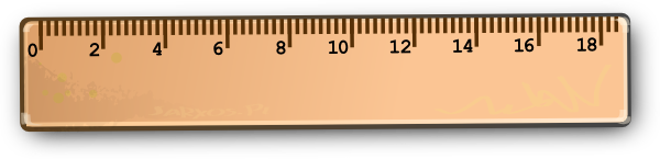 1570 Ruler free clipart.