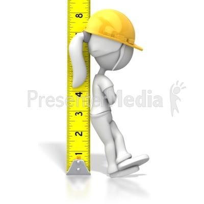 Woman Tape Measure.