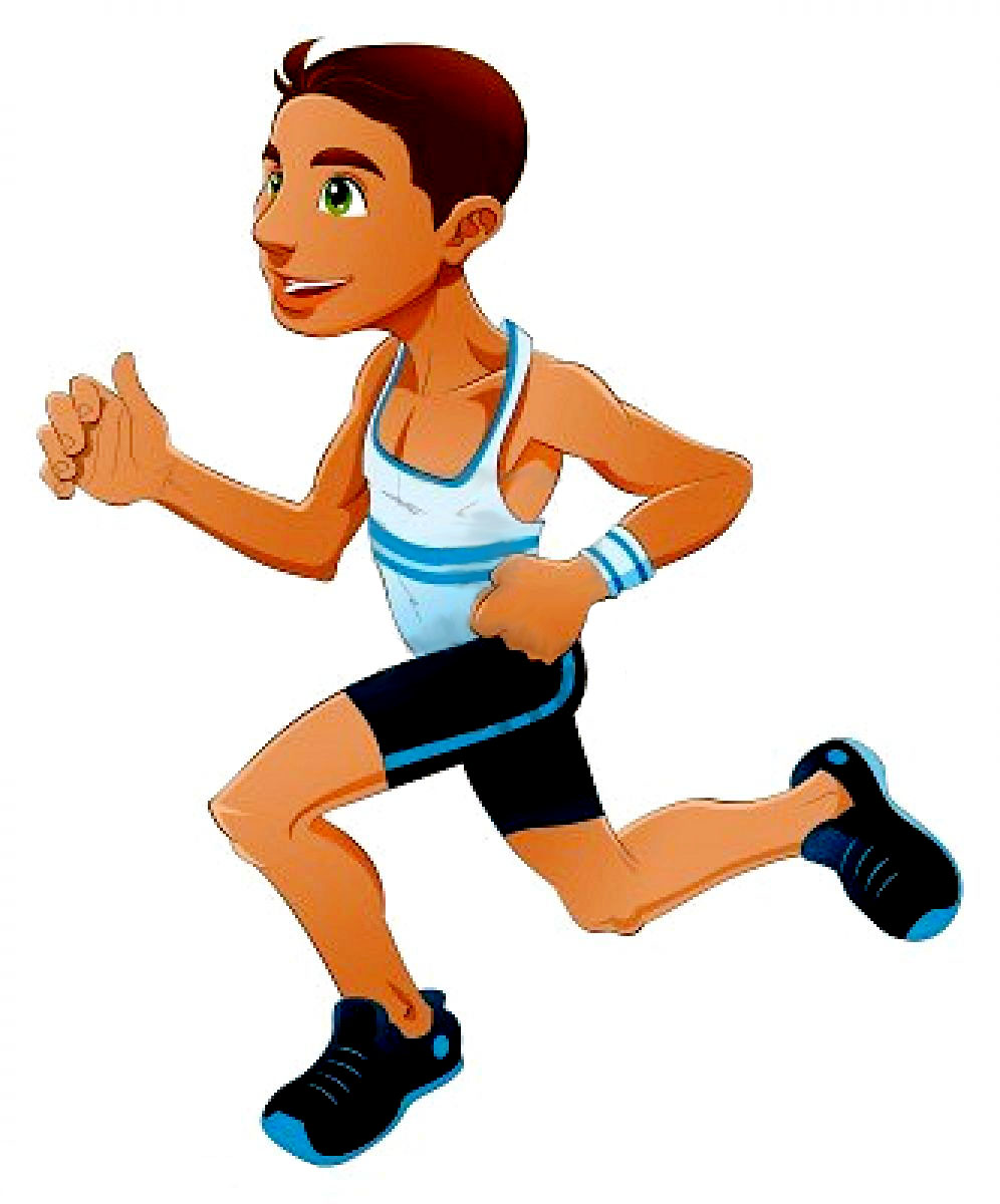 Free Cartoon Runner, Download Free Clip Art, Free Clip Art.