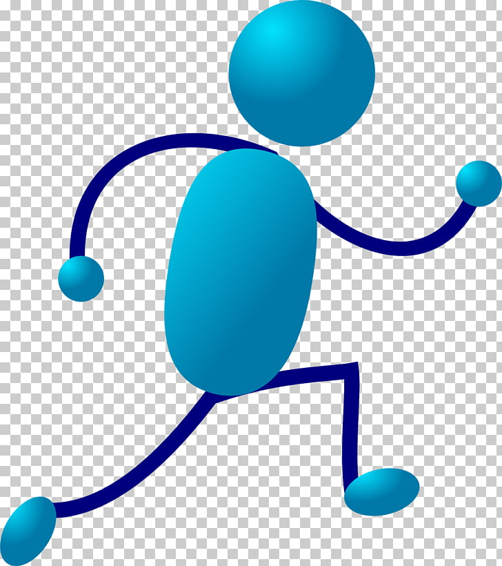 Animation Stick figure Cartoon , running man PNG clipart.