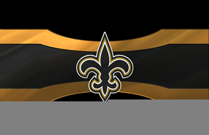 Animated Saints Football Clipart.