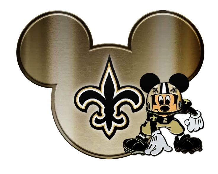 Saints Clipart Football.