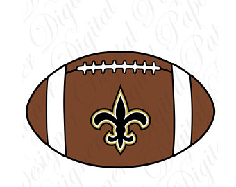 Saints Football Clipart.