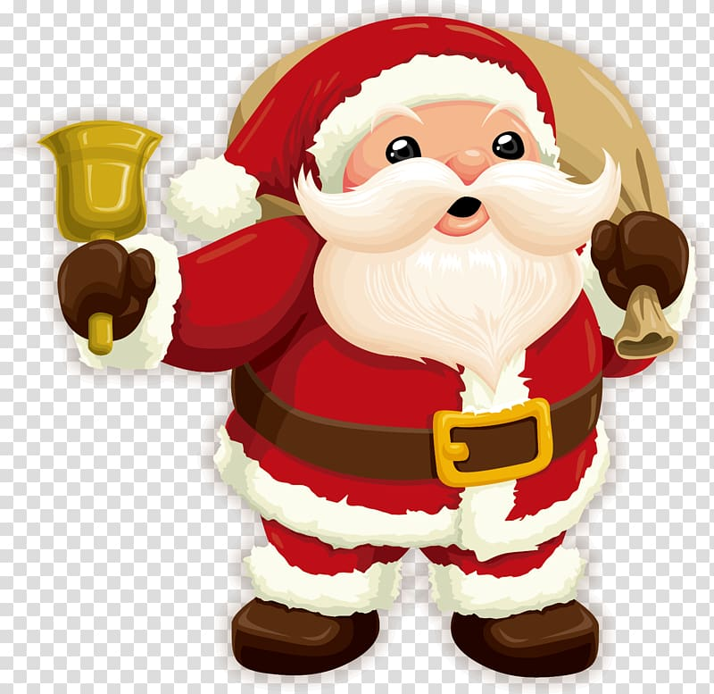 Santa Claus Christmas Gift , Cartoon santa claus transparent.