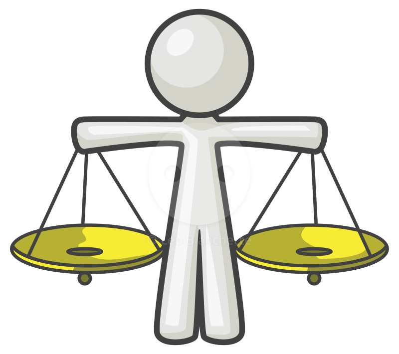 Animated Scales Of Justice Clip Art.