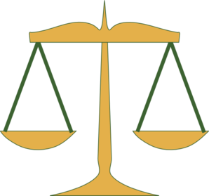 Clipart Scale Of Justice.