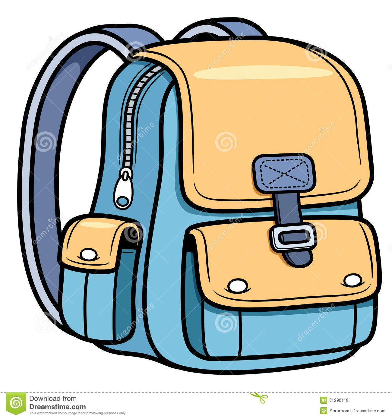 School Bag Royalty Free Stock Photos.