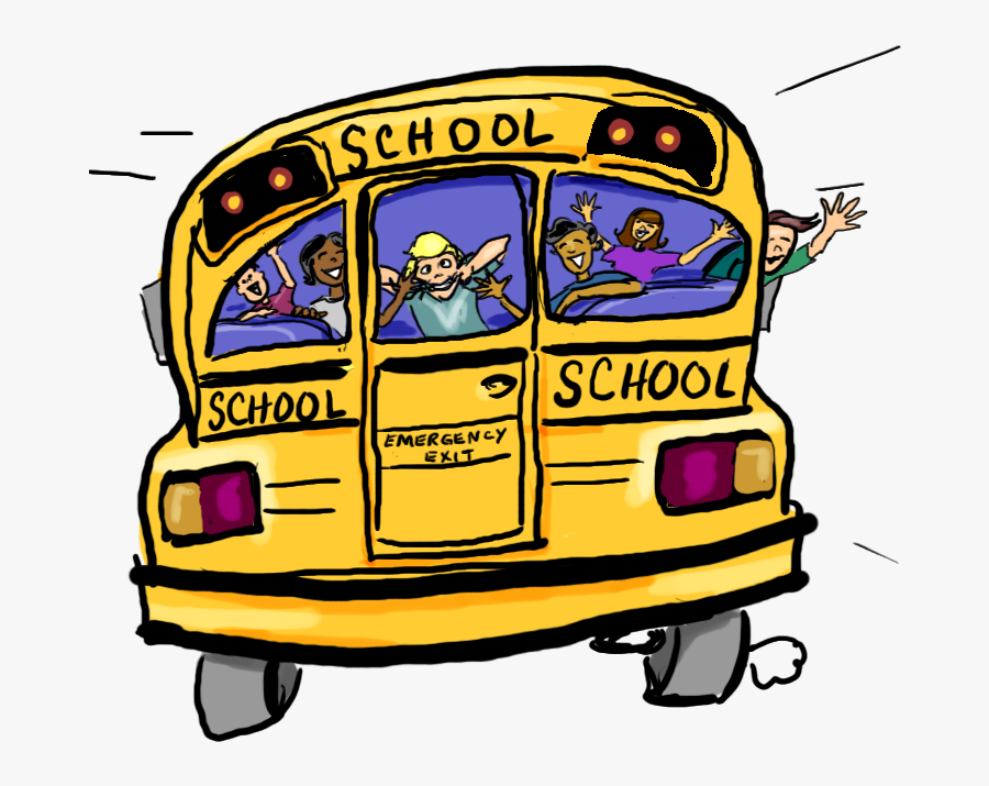 Animated School Bus Clipart.